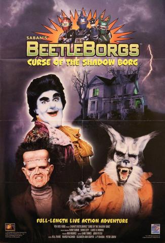 Beetleborgs: Curse Of The Shadow Borg Poster