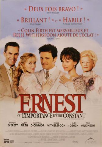 Earnest Ou L'importance D'etre Constant Poster
