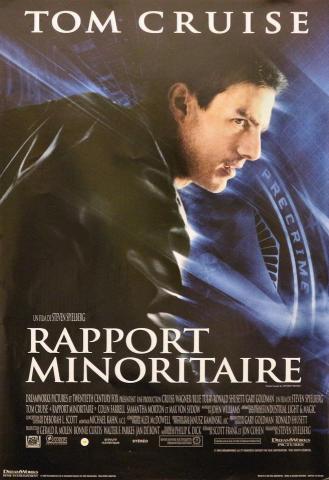 Rapport Minoritaire Poster