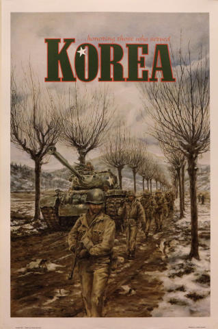 Korea...Honoring Those Who Served Poster