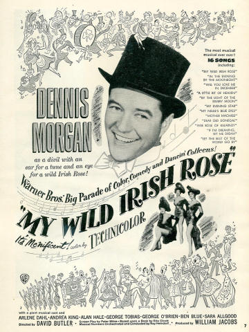 My Wild Irish Rose Vintage Ad