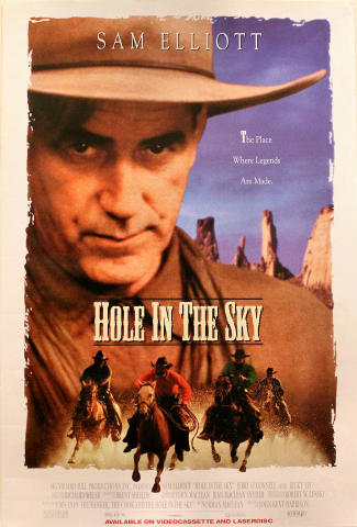 Hole In The Sky Poster