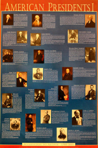 American Presidents I Poster