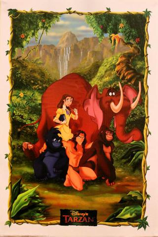 Disney's Tarzan Poster