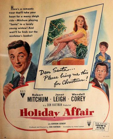 Holiday Affair Vintage Ad