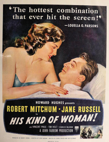 His Kind Of Woman Vintage Ad