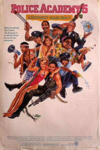Police Academy 5: Assignment Miami Beach Poster