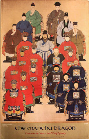 The Manchu Dragon Poster