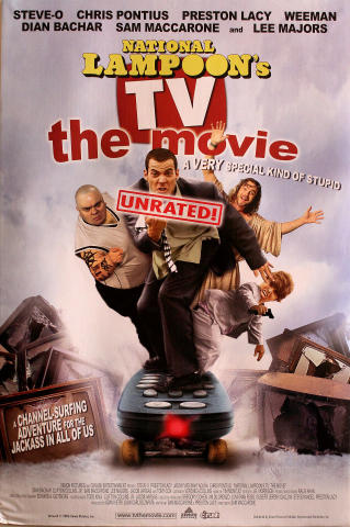 National Lampoon's TV The Movie Poster