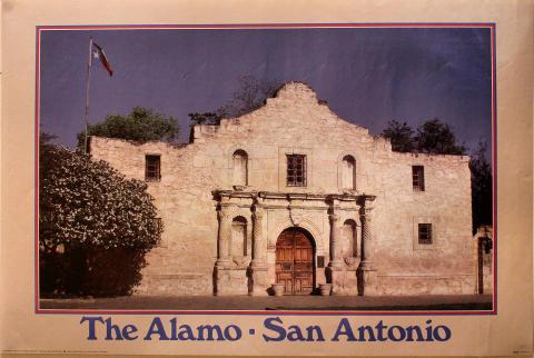 The Alamo - San Antonio Poster
