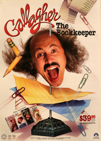 Gallagher: The Bookkeeper Poster