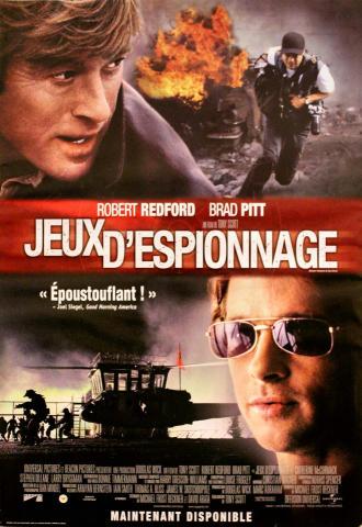 Jeux d'Espionage Poster