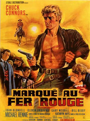 Marque Au Fer Rouge Poster