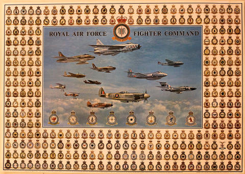 Royal Air Force Fighter Command Poster