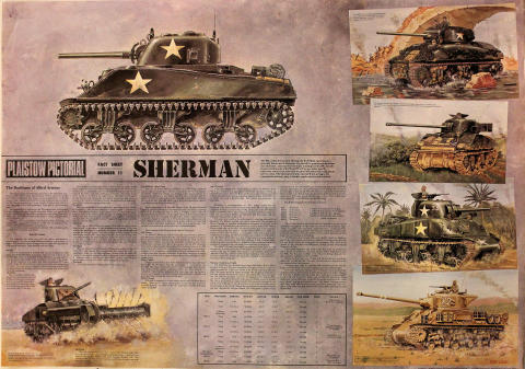 Plaistow Pictorial Fact Sheet Number 11: Sherman Poster