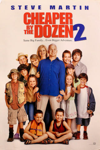 Cheaper By The Dozen 2 Poster