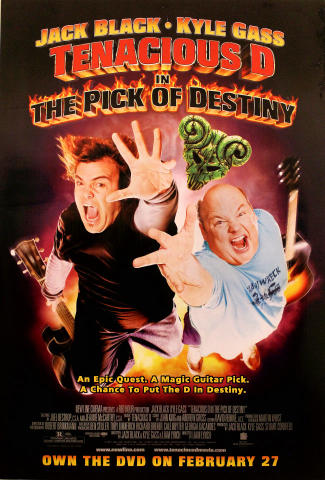 Tenacious D in The Pick of Destiny Poster