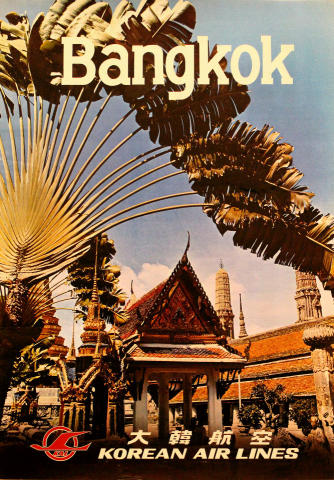 Korean Air Lines: Bangkok Poster