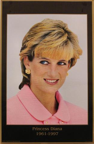 Princess Diana 1961-1997 Poster