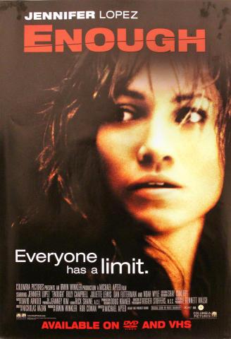Enough Poster