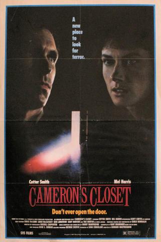 Cameron's Closet Poster