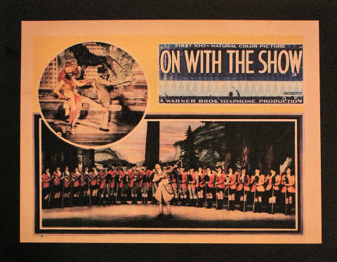 On With The Show Poster