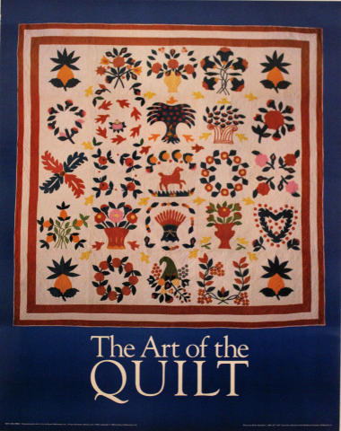 The Art of the Quilt Poster