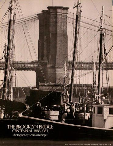 Brooklyn Bridge Centennial 1883 - 1983 Poster