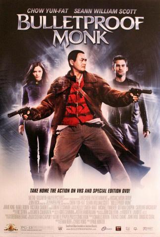 Bulletproof Monk Poster