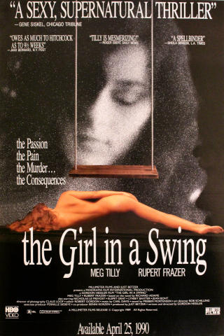 The Girls in a Swing Poster