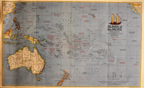National Geographic: Islands of the Pacific Poster