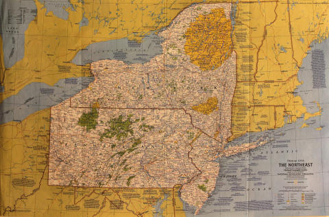 National Geographic: The Northeast Poster