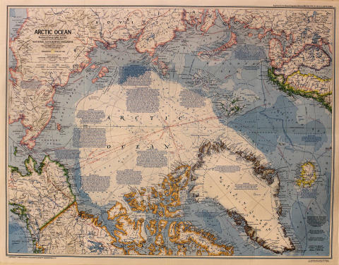 National Geographic: Arctic Ocean Poster