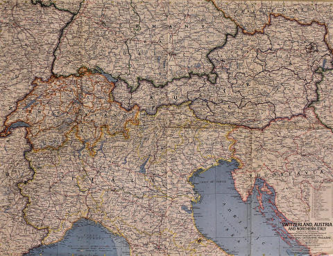 National Geographic: Switzerland and Austria and Northern Italy Poster