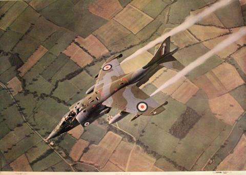 Harrier GR 1 Poster