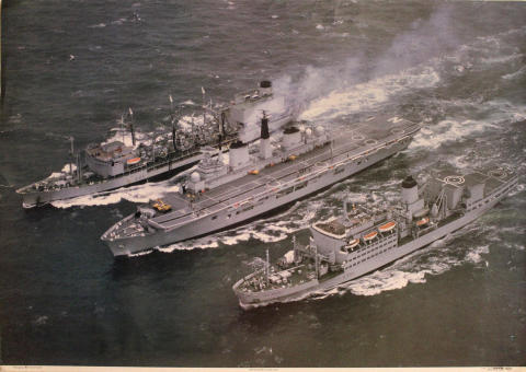 HMS Invincible Poster