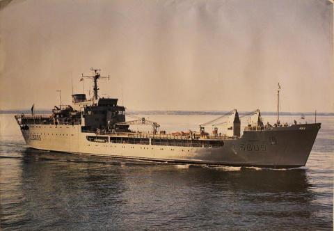 L3005 HMS Sir Galahad Poster