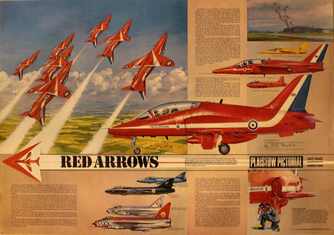Plaistow Pictorial Fact Sheet Number Nine - Red Arrows Poster