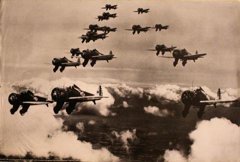 Boeing P-26A Pursuit Squadron Poster