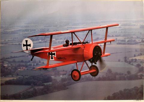 Fokker Dr1 Triplane Poster