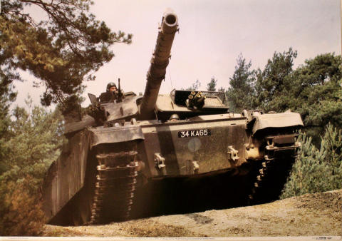 Challenger Main Battle Tank Poster