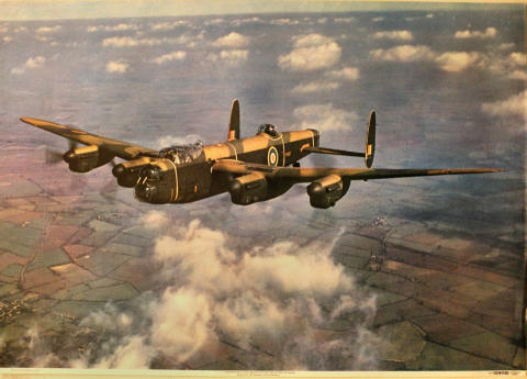 Lancaster Mk 1 Poster
