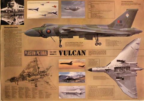 Plaistow Pictorial Fact Sheet Number Fifteen: VULCAN Poster
