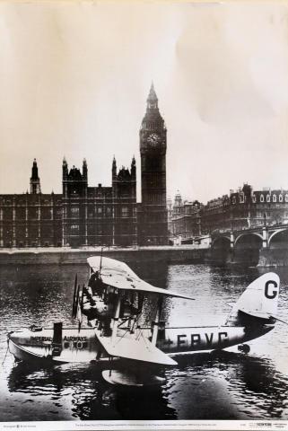 Short Calcutta Flying Boat Poster