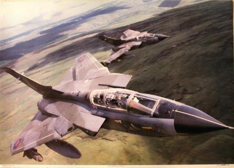 Panavia Tornados of No. 9 Squadron Poster