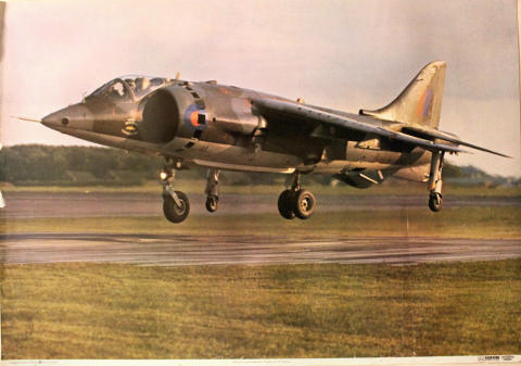 Harrier of Harrier Operational Conversion Unit Poster