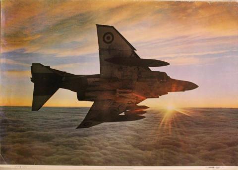 McDonnell Douglas Phantom FG1 Poster