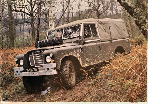 Land Rover 3/4-ton Military Vehicle Poster
