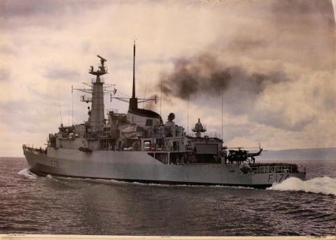 HMS Alacrity Poster
