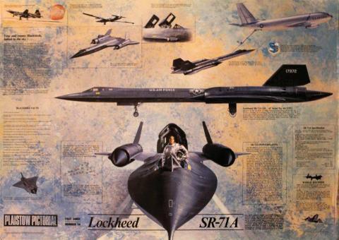 Plaistow Pictorial Number Fourteen: Lockheed SR-71A Poster